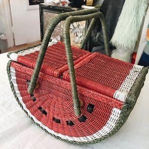 The Wicker Watermelon Basket